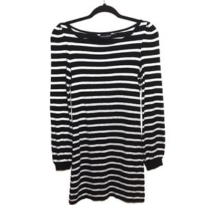 French Connection Striped Shirt Dress